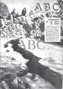 Portada del ABC dedicada íntegramente al hundimiento